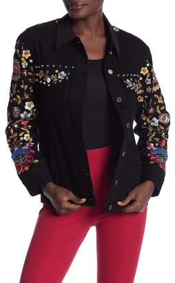 French Connection Mazie Floral Print Jacket