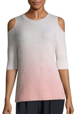Ombra Dias Cold-Shoulder Sweater