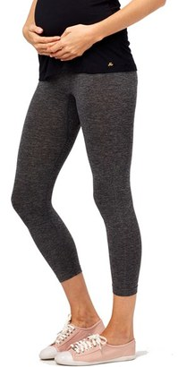 Women's Rosie Pope Seamless Capri Maternity Leggings $28 thestylecure.com