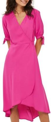 Women's Topshop Dusty Emma Tie Sleeve Wrap Dress $90 thestylecure.com