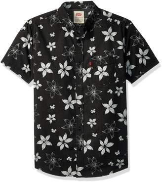 Levi's Men's Gatland Short Sleeve Woven Shirt