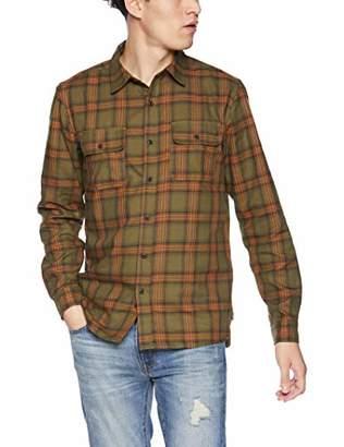 Hurley Men's Nike Dri Fit Syd Plaid Long Sleeve Woven Shirt