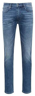 HUGO BOSS Skinny-fit jeans in washed stretch denim