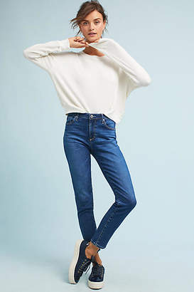 AG Jeans The Stevie Mid-Rise Skinny Cropped Jeans