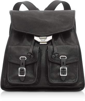 Rag & Bone Black Leather Field Small Backpack