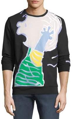 Iceberg Men's Peanuts Linus Graphic-Applique Sweatshirt