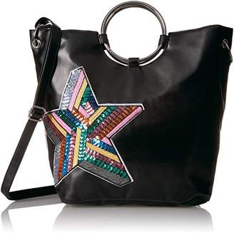 T-Shirt & Jeans Ring Tote with Sequin Star