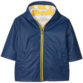 Hatley Navy Yellow Splash Jacket Boy's Coat