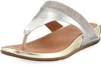 FitFlop Banda Micro-Crystal Thong Sandals