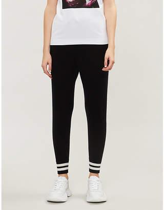 Zoe Jordan Hitchcock wool and cashmere-blend jogging bottoms