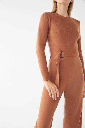Urban Outfitters Long Sleeve Sweater Jumpsuit