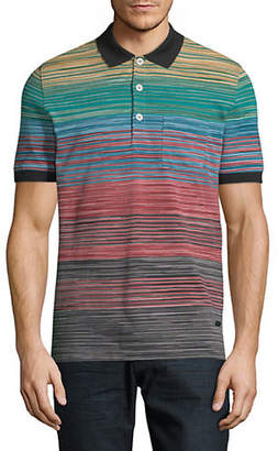 Missoni Stripe Cotton Polo