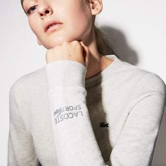 Lacoste Women's SPORT Tennis Cotton Fleece Sweatshirt