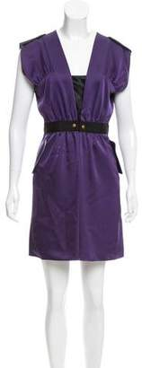 Cynthia Steffe Satin Mini Dress