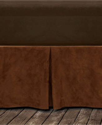 Hiend Accents Microfiber Suede Full Bedskirt