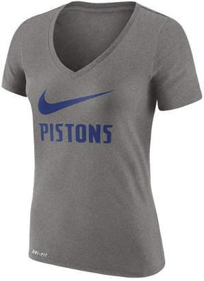 Nike Women's Detroit Pistons Swoosh T-Shirt