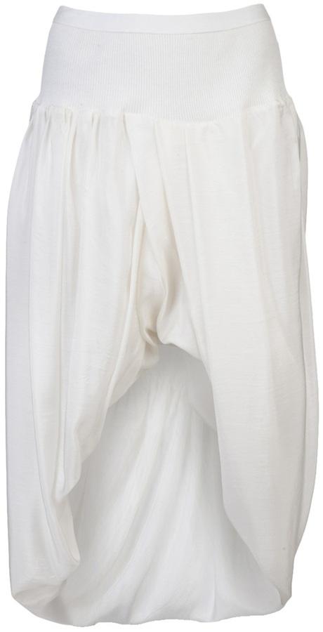 Rick Owens High low skirt
