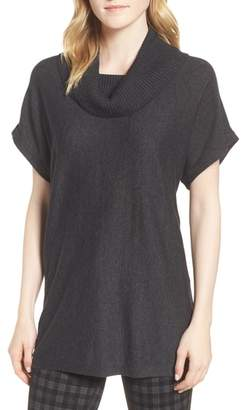 Vince Camuto Short Sleeve Turtleneck Sweater