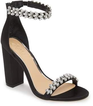 Badgley Mischka JEWEL Jewel by Mayra Embellished Ankle Strap Sandal
