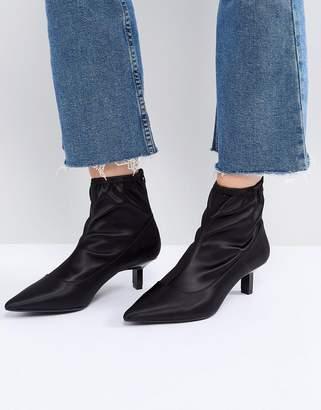 Bershka Kitten Heel Boot