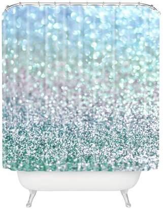 East Urban Home Snowfall Shower Curtain