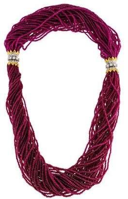 Tiffany & Co. Schlumberger Torsade Necklace & Bracelet Set