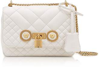 Versace Small Quilted Leather Icon Small Shoulder Bag