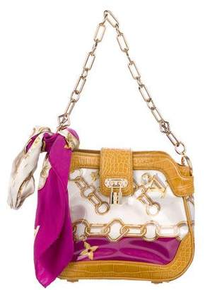 Louis Vuitton Linda Monogram Charms Scarf Bag