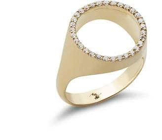 Bijoum See Through Gold Ring