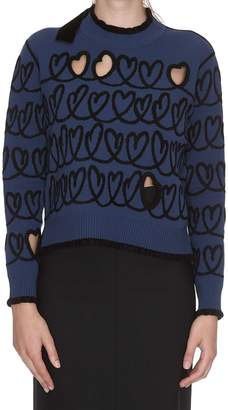 Fendi Open Your Heart Pullover