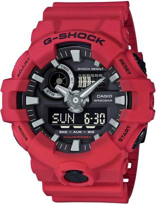 Casio G-shock Ana Digi Men's Watch, 200 Meter Water Resistant with Day and Date GA-700-4A