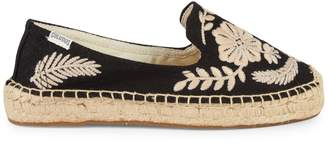 Soludos Tuillerie Embroidered Floral Espadrille Flats