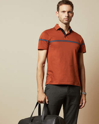 Ted Baker KARGO Cotton striped polo shirt