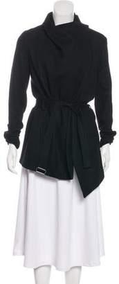 Helmut Lang Wool Short Coat