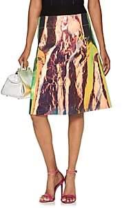Maison Margiela Women's Iridescent-Overlay Midi-Skirt