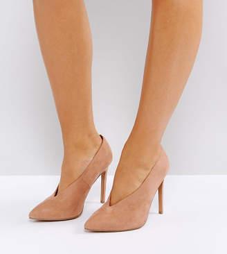 Asos DESIGN PRIORITY Wide Fit High Heels