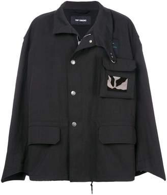 Raf Simons utilitarian oversized jacket