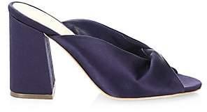 Loeffler Randall Women's Laurel Block Heel Satin Sandals