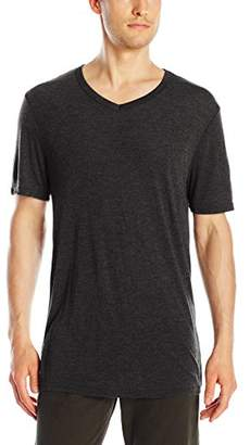 Michael Stars Men's Short Sleeve Bamboo Jersey V-Neck T-Shirt