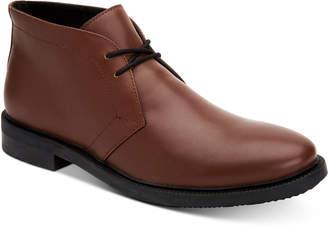 Calvin Klein Men Cam Chukka Dress Boots Men Shoes