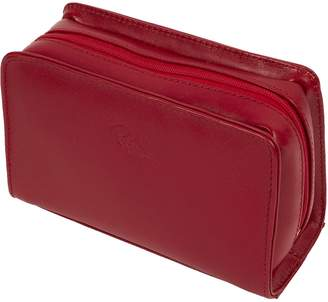 RKW Collection Leather Cosmetic Bag