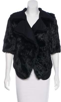 Marni Fur Short Sleeve Jacket