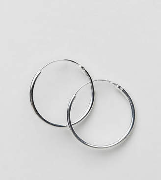 Asos (エイソス) - ASOS Sterling Silver 20mm Hoop Earrings
