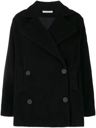 Dusan double-breasted fitted coat