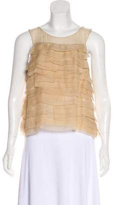 Chloé Sleeveless Silk Top w/ Tags