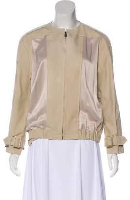 Bottega Veneta Accented Long Sleeve Jacket