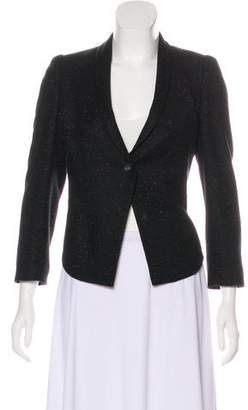 Helmut Lang Structured Cropped Blazer