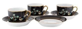 Fitz & Floyd 7-Piece Chinoiserie Tea Service
