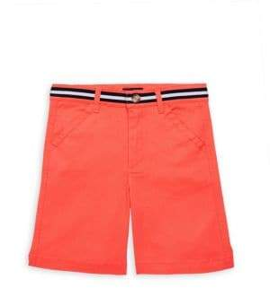 Andy & Evan Baby's & Little Boy's Striped-Waist Twill Shorts