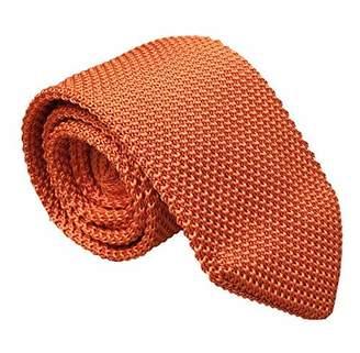 Ctskyte Men Spring Knitted Silk Ties Vintage Knit Skinny Designer Necktie
